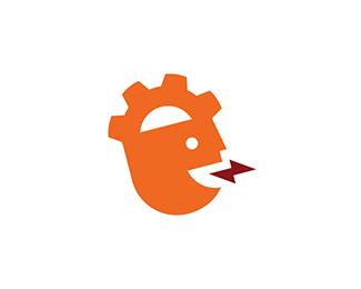 学习互动logo标志设计