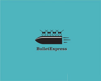 BulletExpress子弹飞logo