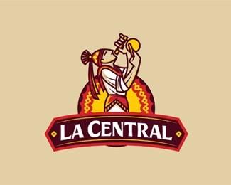 LaCentral古典徽标