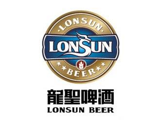龙圣啤酒标志设计