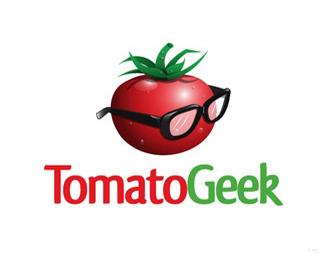 西红柿头像标志设计
