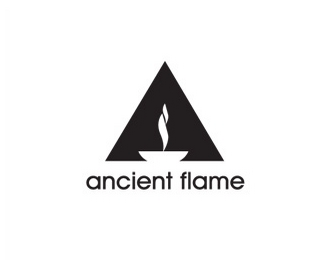 ancienf flame标志设计