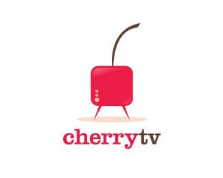 CherryTv樱桃电视台标志
