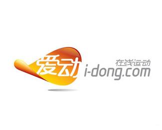 i-dong互联网运动品牌标志