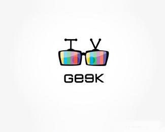 眼镜电视台标志设计欣赏