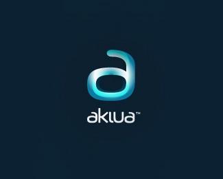aklua标志设计