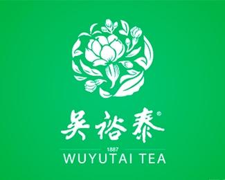 吴裕泰字体logo设计