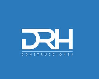 DRH建筑公司标志设计