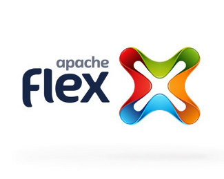 flex立体标志设计