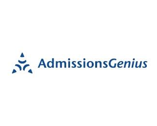 admissions genius标志设计