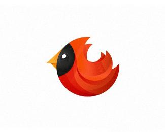小鸟标志设计