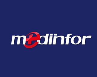 联众医疗科技mediinfor标志