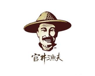 官井渔夫标志设计