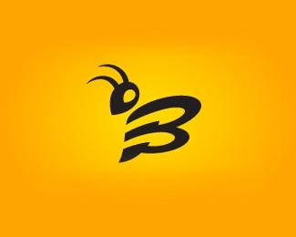 蜜蜂logo设计欣赏