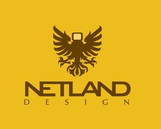 设计公司Netland标志设计