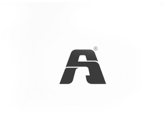 A字母创意标志设计