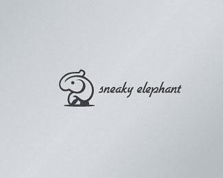 一只快乐的大象