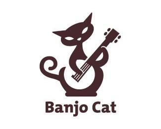 弹琴的猫banjocat