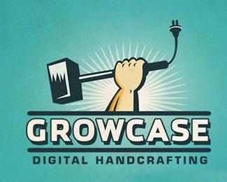 GROWCASE标志logo设计欣赏
