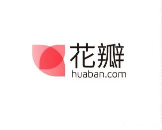 杭州花瓣网,网站logo