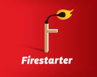 F火柴标志设计