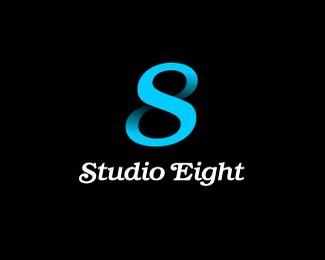 八号工作室标志欣赏