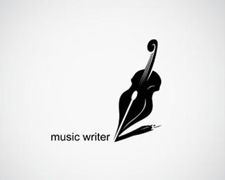 音乐作家标志logo