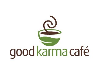好人缘咖啡馆标志