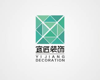 宜匠装饰标志设计