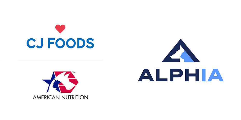 美国宠物食品品牌Alphia宠物食品制造商logo(2020年)