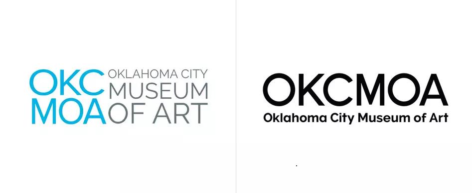 俄克拉荷马市艺术博物馆标志(2020年11月)