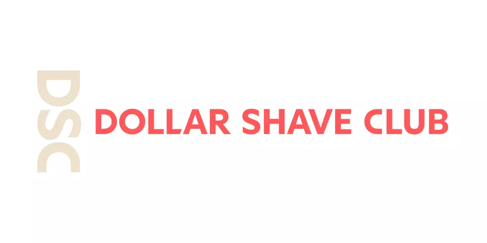 Dollar Shave Club男士订阅制个人护理品牌标志(2020年)