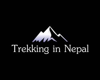 尼泊尔徒步旅行标志