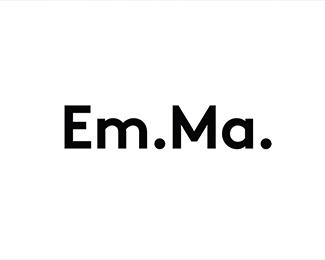 瑞典建筑师EmMa个人品牌形象标志