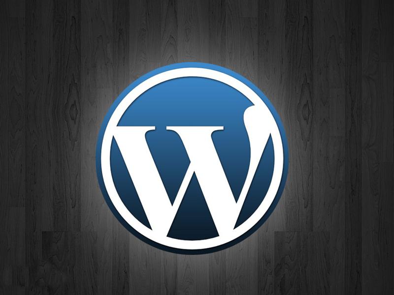 开源建站程序Worldpress(旧logo)
