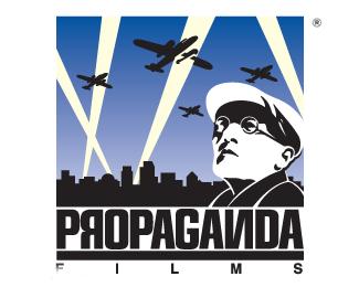 军事电影的宣传logo
