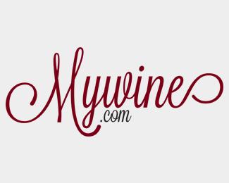 艺术字MyWine设计