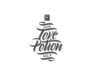 爱情药水9号概念标志