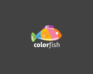 彩色鱼图标