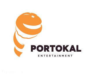 Portokal标志设计