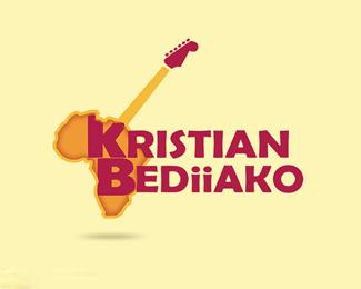非洲音乐家专业摇滚吉他手克里斯蒂安Bediiako