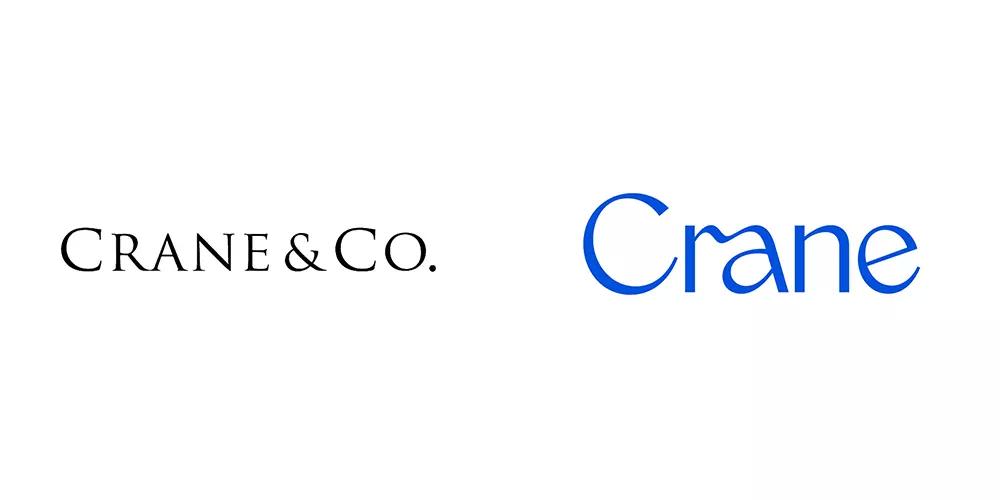 美国著名的造纸商Crane旧标志