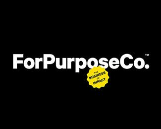 FORPURPOSECO.服装品牌标志设计