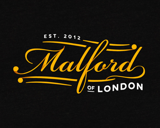 Malford艺术字设计