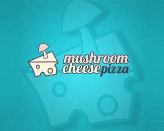 蘑菇奶酪比萨蛋糕店