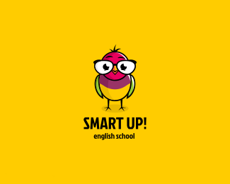 灵动小鸟英语学校标志
