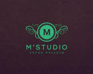 美容店标志MStudio