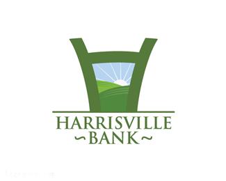 银行标志Harrisville