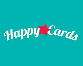 国外标志欣赏幸福卡