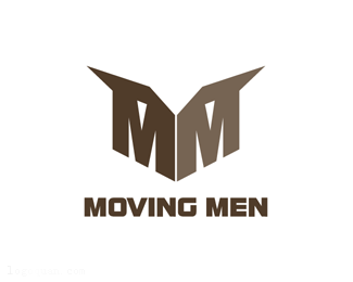 国外标志moving men